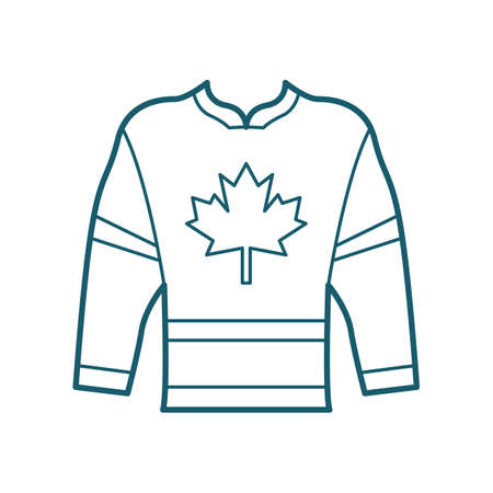 Illustration for Hockey jersey - Royalty Free Image