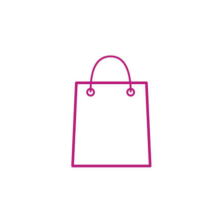 Illustration for shopping bag - Royalty Free Image