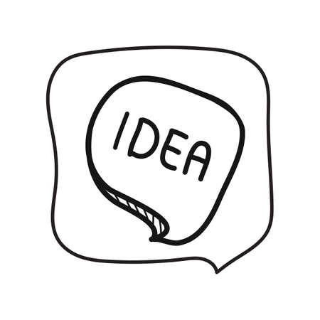 Illustration pour Idea - image libre de droit