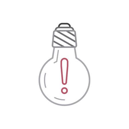 Ilustración de A bulb Illustration. - Imagen libre de derechos