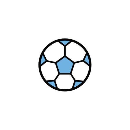 Illustration pour football - image libre de droit