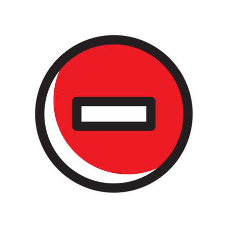 Illustration pour remove icon - image libre de droit