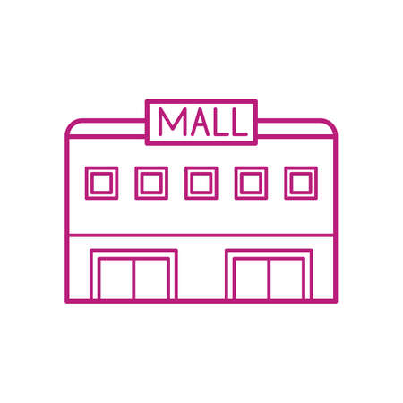 Illustration for mall - Royalty Free Image