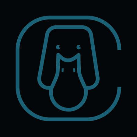 Illustration for dog - Royalty Free Image