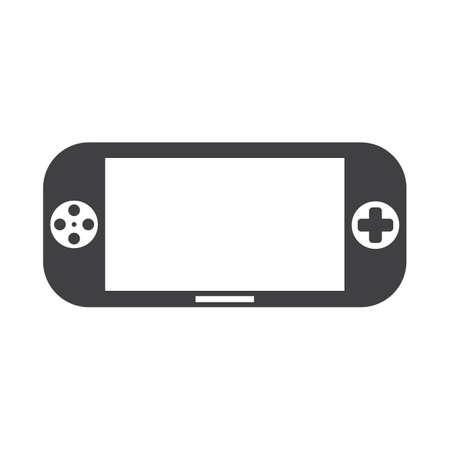 Illustration pour handheld game device - image libre de droit