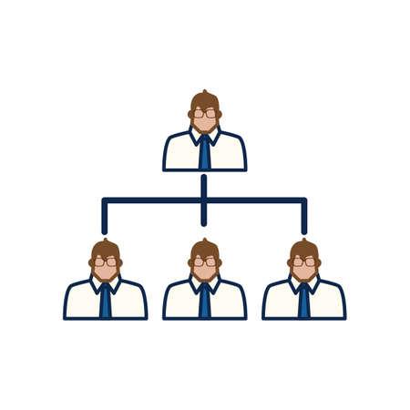 Ilustración de hierarchy - Imagen libre de derechos