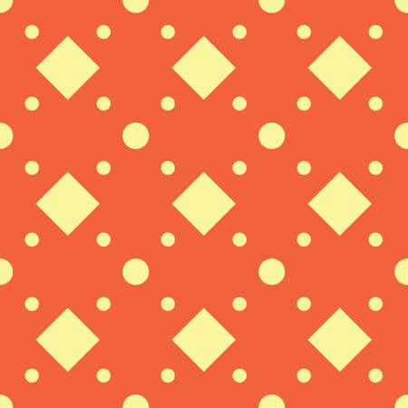 Illustration pour A seamless geometric pattern illustration. - image libre de droit
