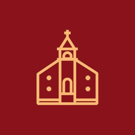 Ilustración de church - Imagen libre de derechos