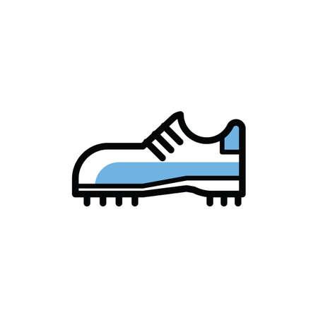 Illustration for sports shoe - Royalty Free Image