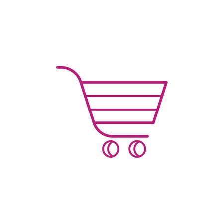 Illustration for shopping cart - Royalty Free Image