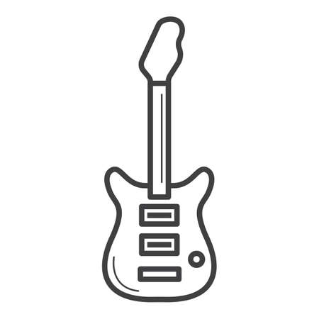 Illustration for electrical guitar - Royalty Free Image
