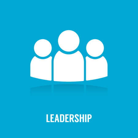 Illustration for Leadership concept. - Royalty Free Image