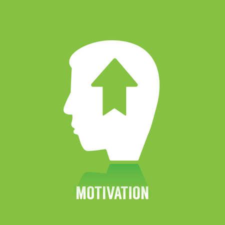 Ilustración de motivation concept - Imagen libre de derechos