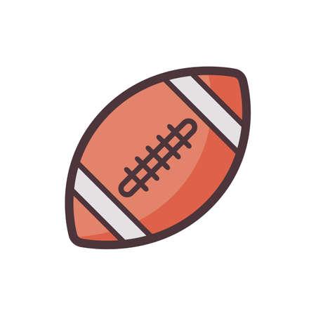 Ilustración de american football - Imagen libre de derechos