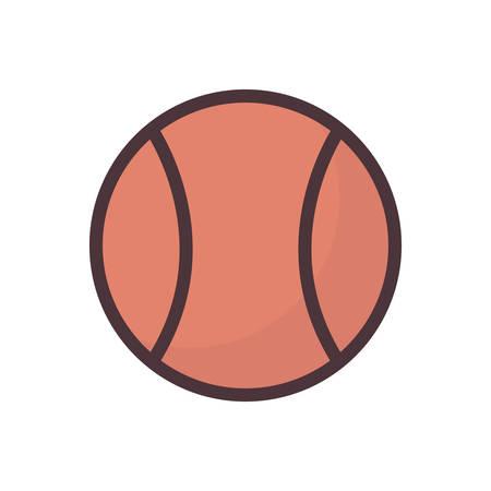 Ilustración de tennis ball - Imagen libre de derechos