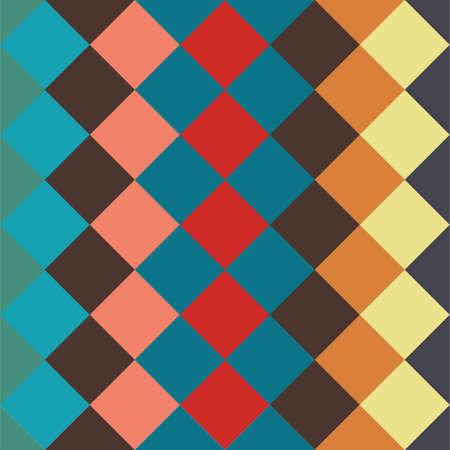 Illustration pour rhombus background - image libre de droit