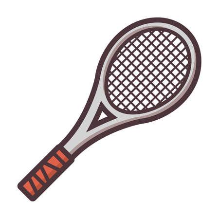Ilustración de tennis racket - Imagen libre de derechos