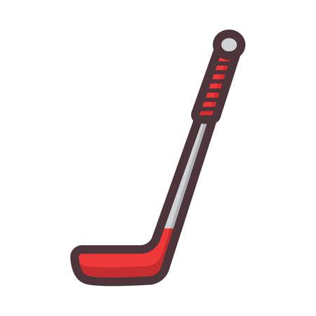 Ilustración de hockey stick - Imagen libre de derechos