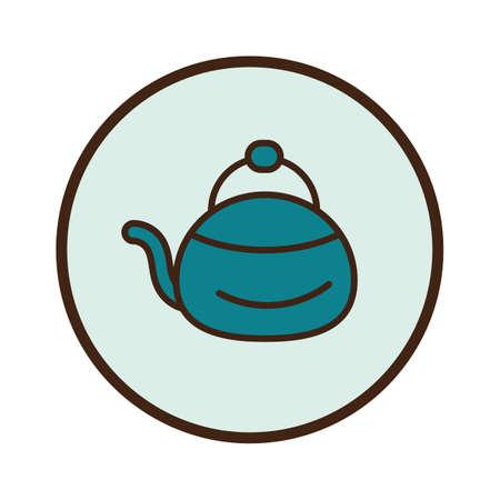 Ilustración de teapot - Imagen libre de derechos
