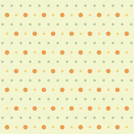 Ilustración de polka dots pattern background - Imagen libre de derechos
