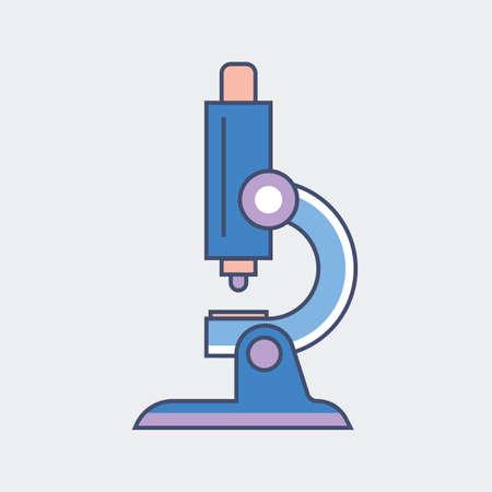 Ilustración de microscope - Imagen libre de derechos