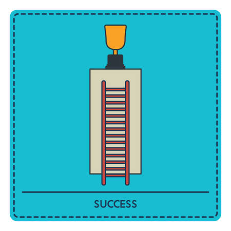 Illustration for Success concept - Royalty Free Image