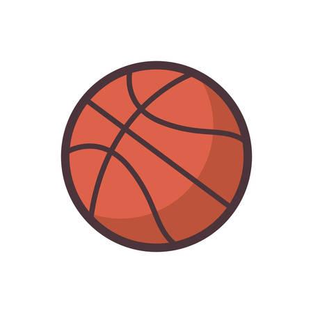 Ilustración de basketball - Imagen libre de derechos