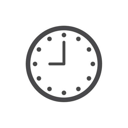 Illustration for A clock illustration. - Royalty Free Image