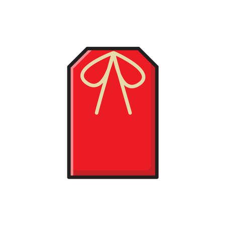 Ilustración de omamori amulet talisman charm - Imagen libre de derechos