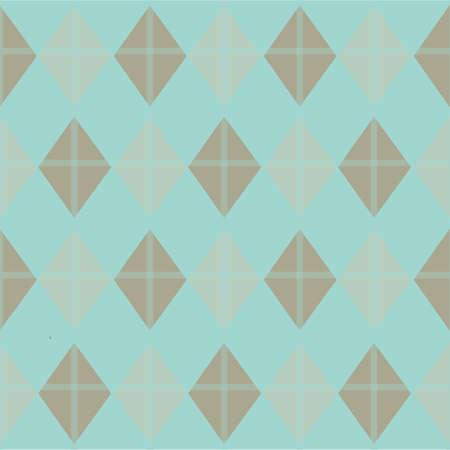 Illustration pour rhombus pattern background - image libre de droit