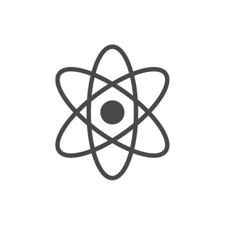 Illustration for An atom illustration. - Royalty Free Image