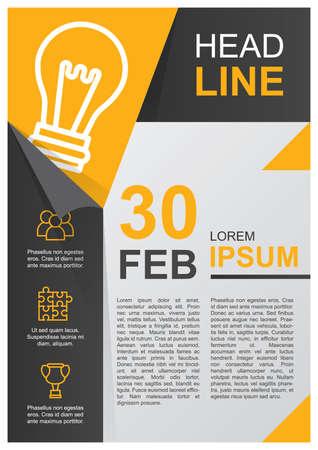 Ilustración de business poster - Imagen libre de derechos