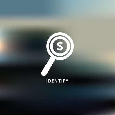 Ilustración de identify - Imagen libre de derechos