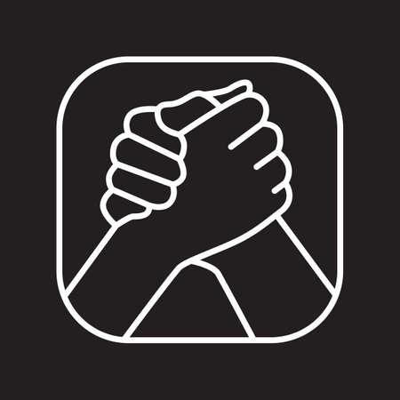Illustration for partnership - Royalty Free Image