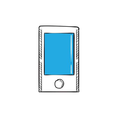 Illustration pour mobile phone icon - image libre de droit