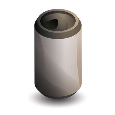 Illustration pour tin can - image libre de droit