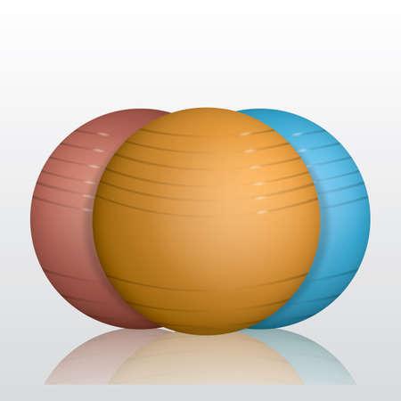 Ilustración de ping pong balls - Imagen libre de derechos