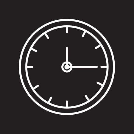 Illustration for clock - Royalty Free Image