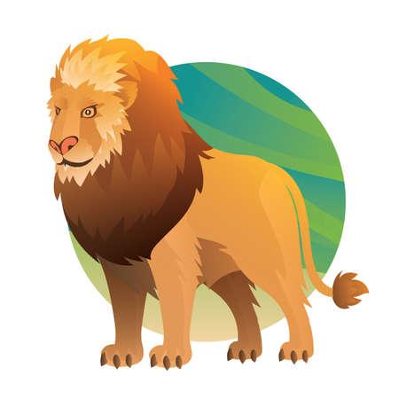 Ilustración de lion - Imagen libre de derechos
