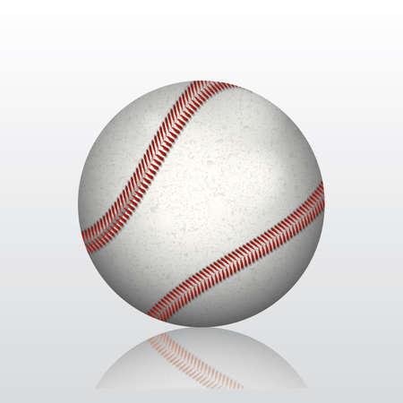 Ilustración de baseball - Imagen libre de derechos
