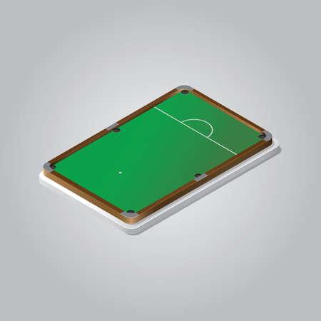 Ilustración de billiard table - Imagen libre de derechos