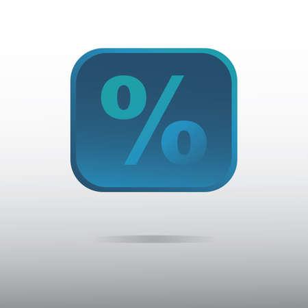 Ilustración de percentage - Imagen libre de derechos