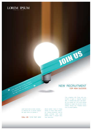 Ilustración de office poster - Imagen libre de derechos