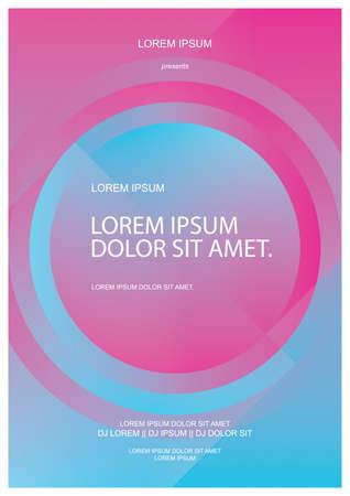Ilustración de background poster - Imagen libre de derechos