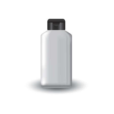 Illustration pour talcum powder bottle - image libre de droit