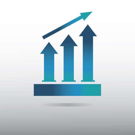 Illustration pour process bar graph - image libre de droit