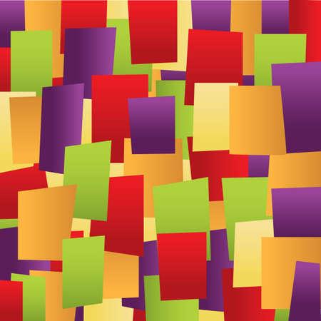 Ilustración de modern abstract geometric background - Imagen libre de derechos