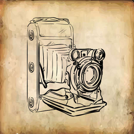 Ilustración de retro camera - Imagen libre de derechos