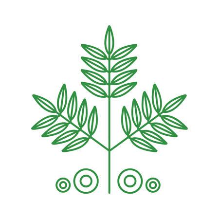 Illustration for leaf - Royalty Free Image