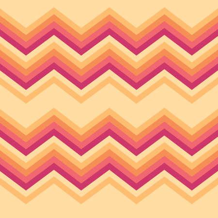 Ilustración de abstract zigzag background - Imagen libre de derechos